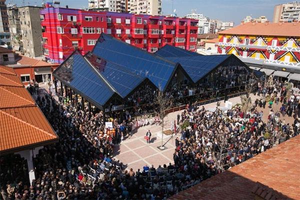 Summer day in Tirana, events in Tirana