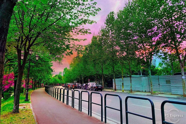 10 most beautiful photos of April in Tirana