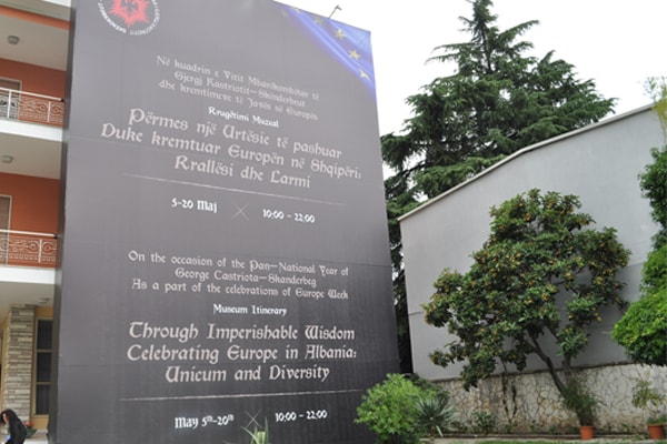 'Imperishable wisdom' a rare exhibition at Enver Hoxha's Villa