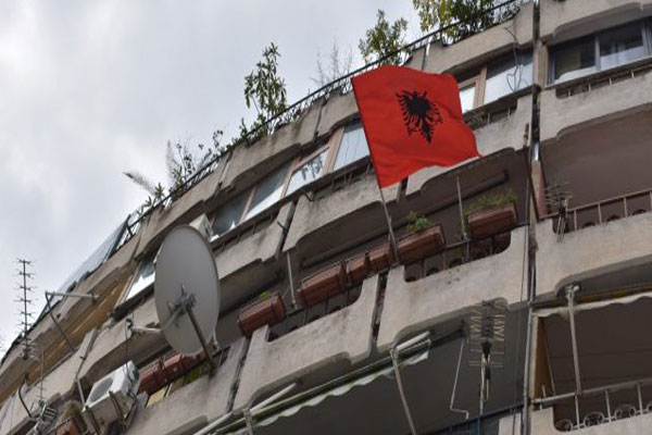 Albania's Independence Day- one house, one flag
