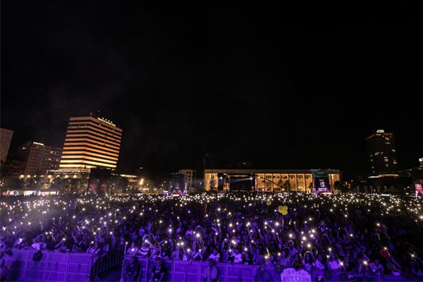 Ermal Meta Concert Tirana Albania