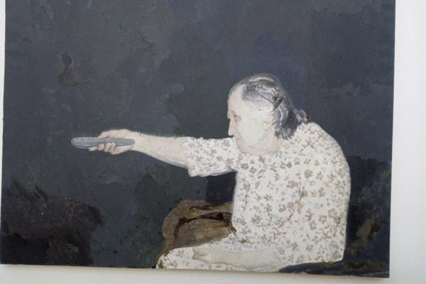 Edi Hila, Piktori i Transformimit në Galerine Kombetare Tirane