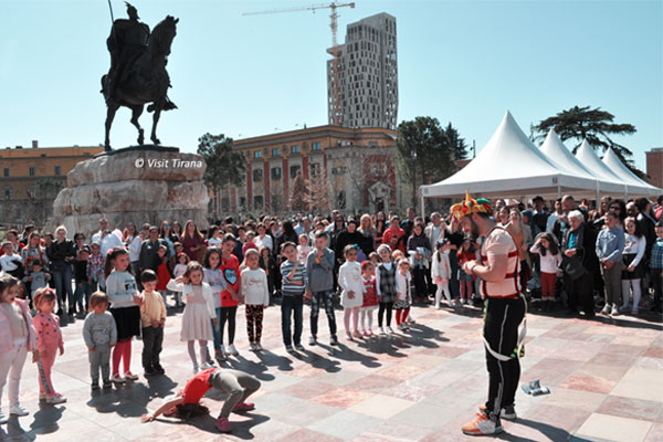 Happiness Day in Tirana