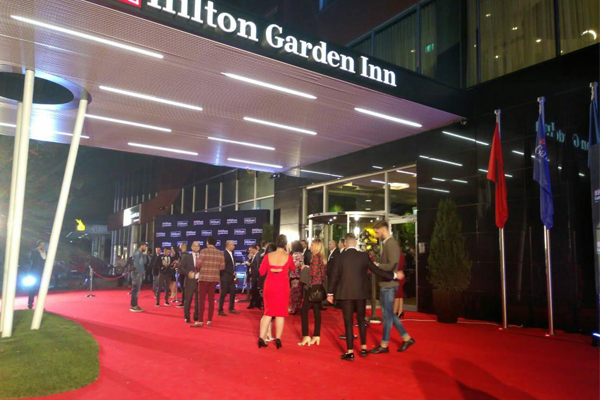 First Hilton branded hotel opened in Tirana