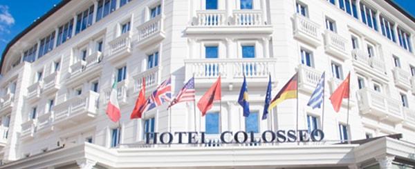 Hotel Colosseo in Tirana, Albania