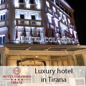 Hotel Colosseo Tirana Albania