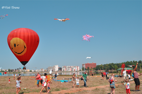 First International Kite Festival in Tirana