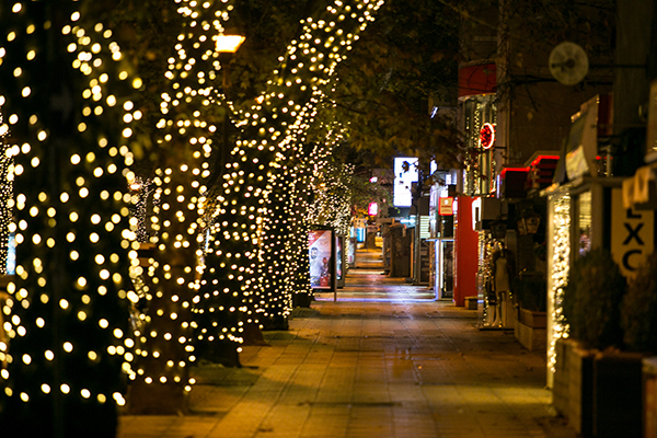 Christmas and new year in Tirana