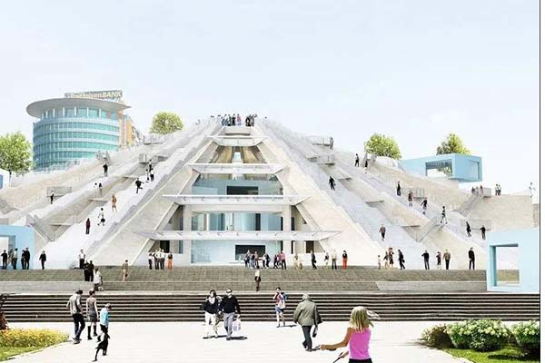 Work begins on Pyramid revitalization project