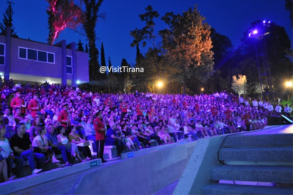 The Tirana Amphitheatre is back