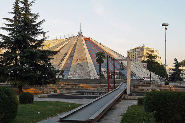 The -pyramid-in-tirana