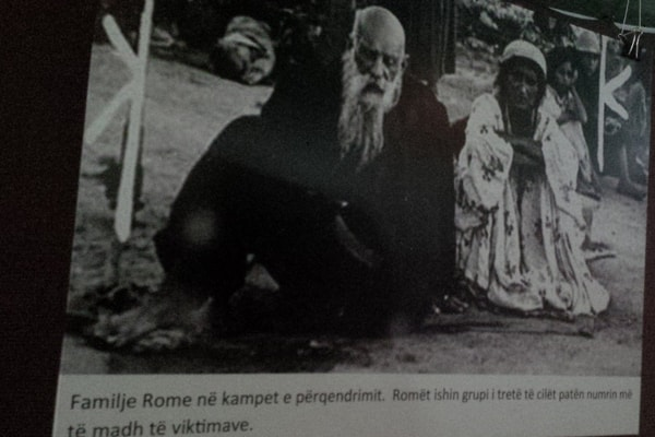 Roma Genocide Remembrance Day in Tirana