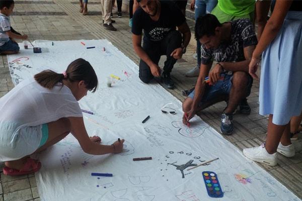 Roma Genocide Remembrance Day in Tirana