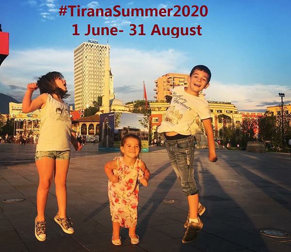 The prizes of #TiranaSummer2020