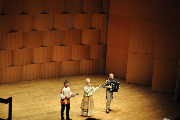Russian Folkloric Ensemble in Tirana