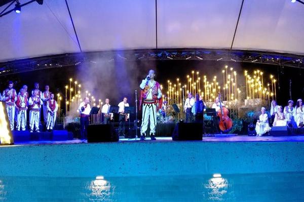 Kajarafilat e Shkodres koncert Tirane