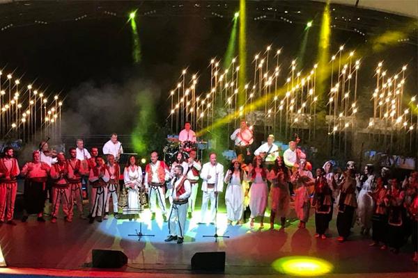Shkodra's music night in Tirana