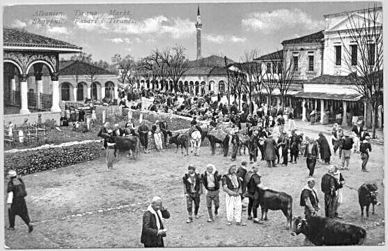 How Edith Durham describes Tirana in the early 1900s