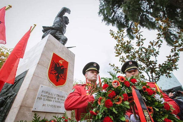 Activities on National Liberation Day of Tirana