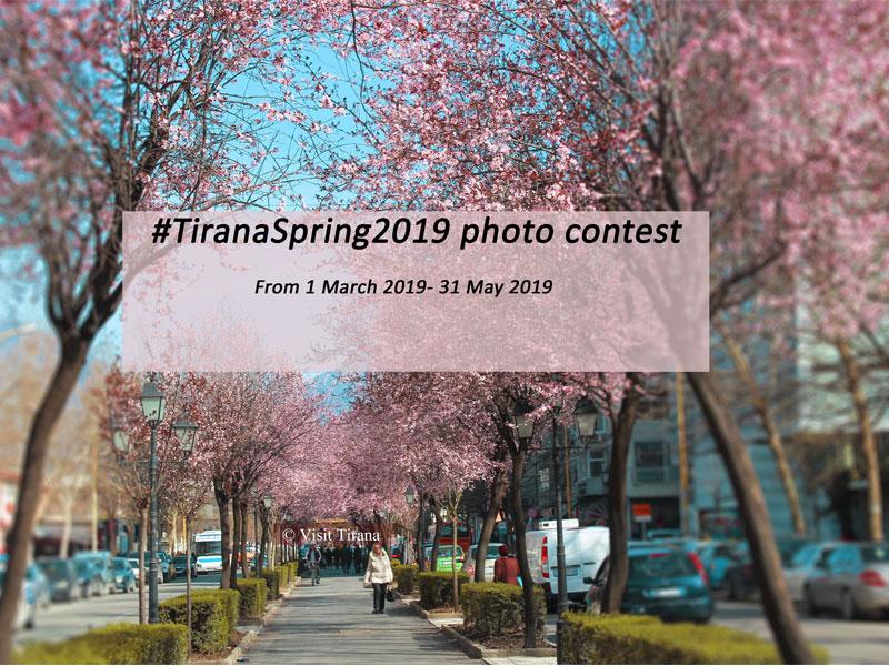 Cmimet e konkursit #TiranaSpring2019
