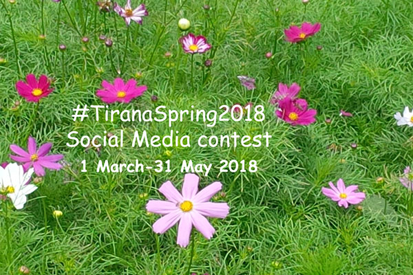 TiranaSpring2018 social media photo contest