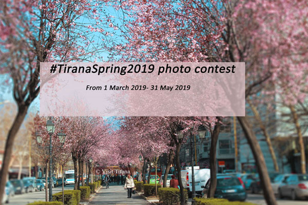 #TiranaSpring2019 photo contest is open
