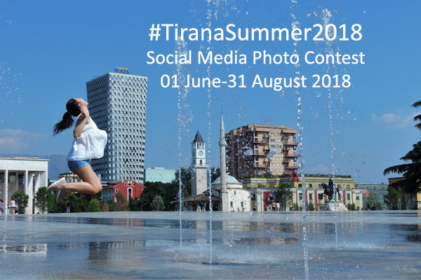 TiranaSummer2018 photo contest
