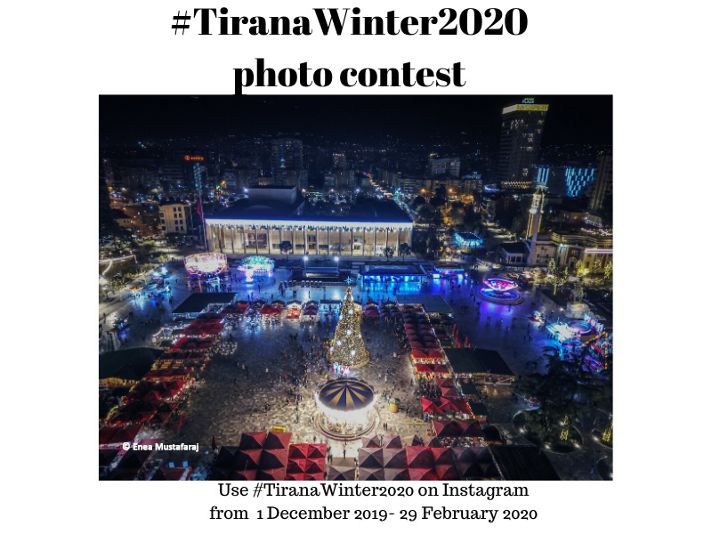 The prizes of #TiranaWinter2020