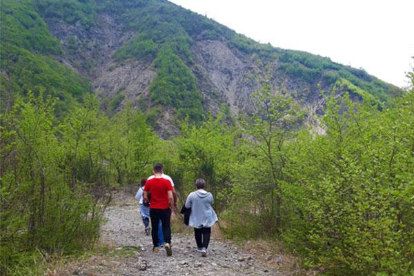 Trip to Shengjergj Waterfall Tirana