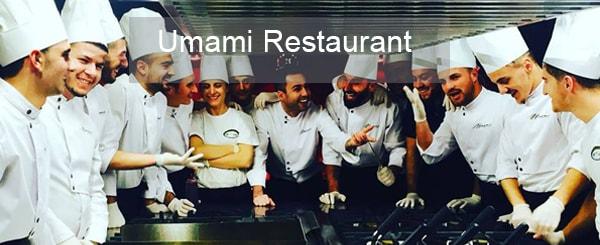 Umami Restaurant in Tirana, Albania