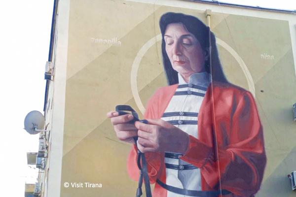Street Art Mural Art Tirane