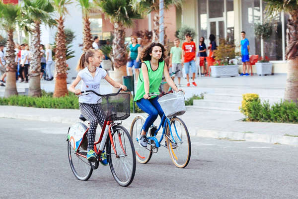 Noleggio bici a Tirana