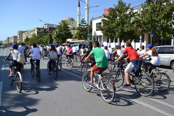 European Mobility Week in Tirana, Albania