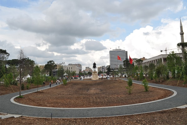 "'Europe Tree Park"" is opened today in Tirana"