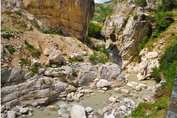 One day in Tujani Canyon, 10 km from Tirana