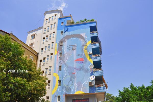 Arti Murali a Tirana Albania