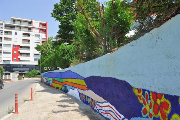 Street Art in Tirana Albania