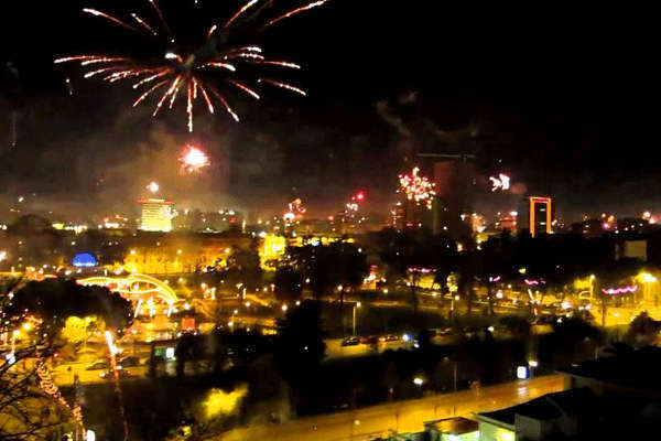 New Year in Tirana