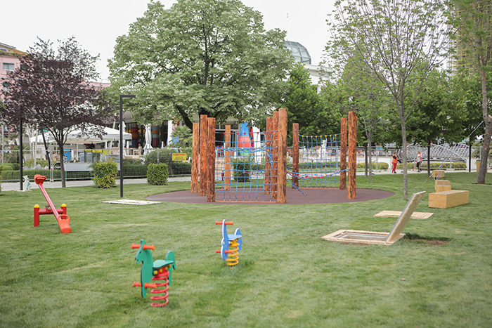Parku Rinia is reopened for Children Day
