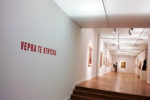Exhibition in Tirana