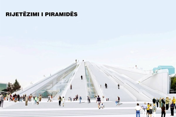 Pyramid of Tirana soon as a multi-functional center