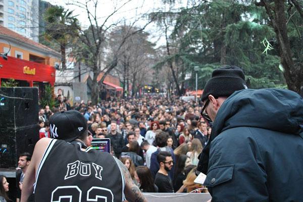 Street Party in Tirana