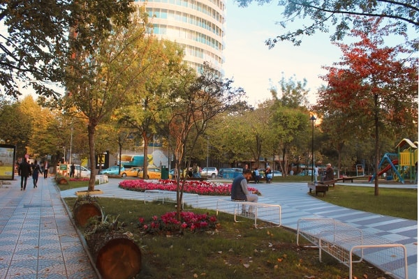 Autumn in Tirana