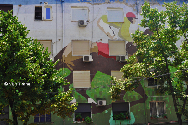 Street Art a Tirana Albania