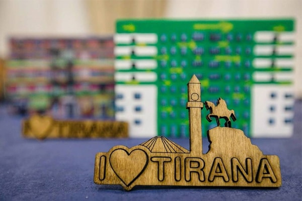 Municipality of Tirana,  new souvenirs of Tirana
