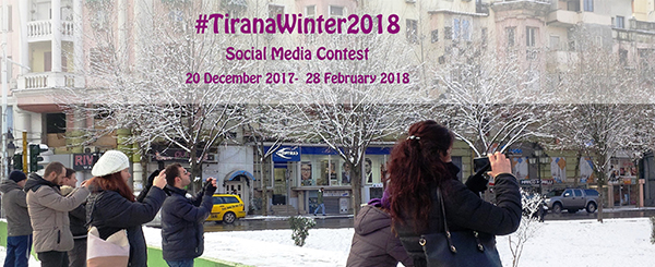 TiranaWinter2018 -Social Media Contest