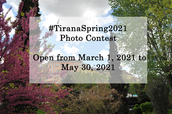 The prizes of #TiranaSpring2021