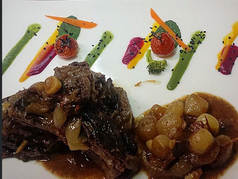 healthy food in A La Sante Restaurant in Tirana