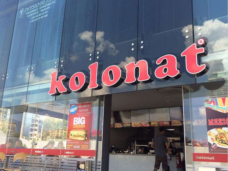 Kolonat Tirana Fast food