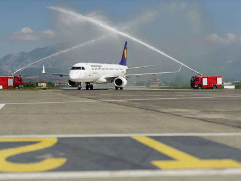 By Plane to Tirana